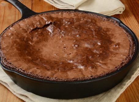 Super Simple Skillet Brownies