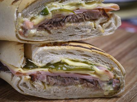 Tampa Bay Grilled Cubano (Serves 4)