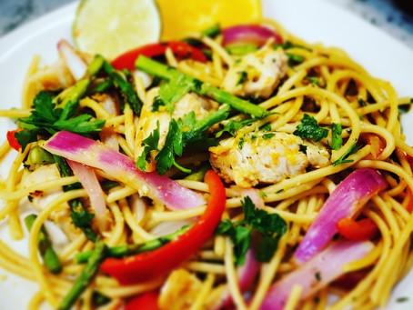 Summer Pasta Stir-Fry