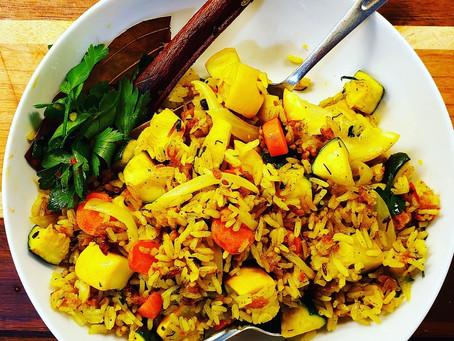 Quick Biryani (Indian Style Spiced Rice)