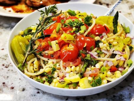 Everything Pasta Salad