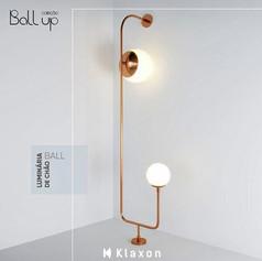 Luminária de Chão Ball Up