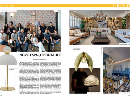 Novo Espaço Bonaluce é destaque na Revista Check It