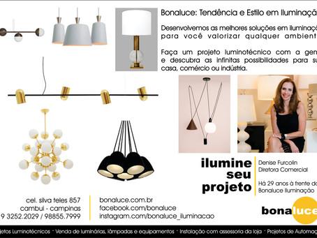 Bonaluce: Tendência e Estilo em Iluminação.