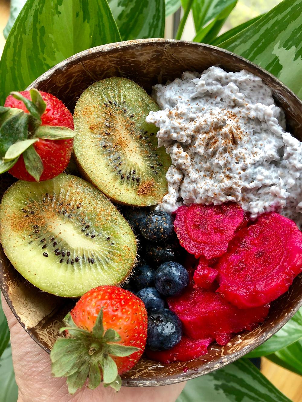 Coconut Yogurt Chia Pudding