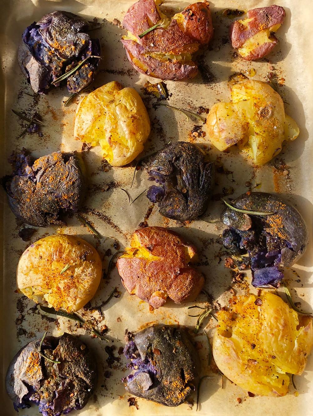 Smashed Baby Potatoes