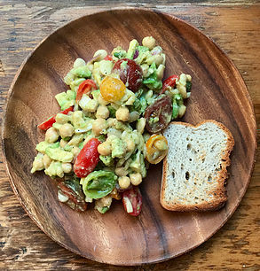 Vegan Avocado-White Bean Salad