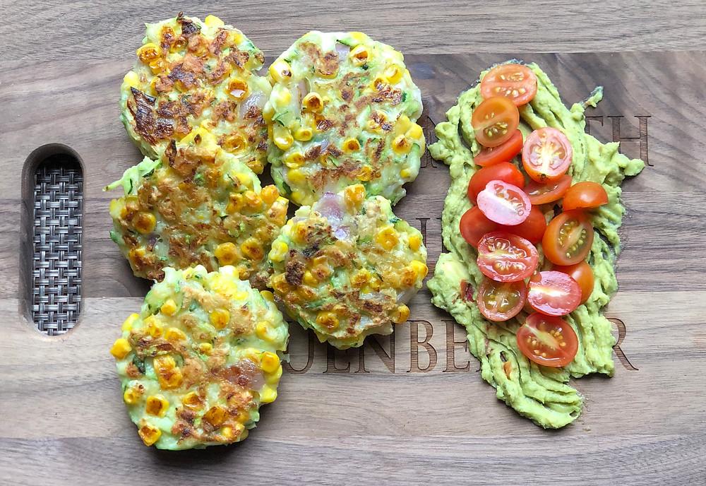 Corn-Zucchini Fritters