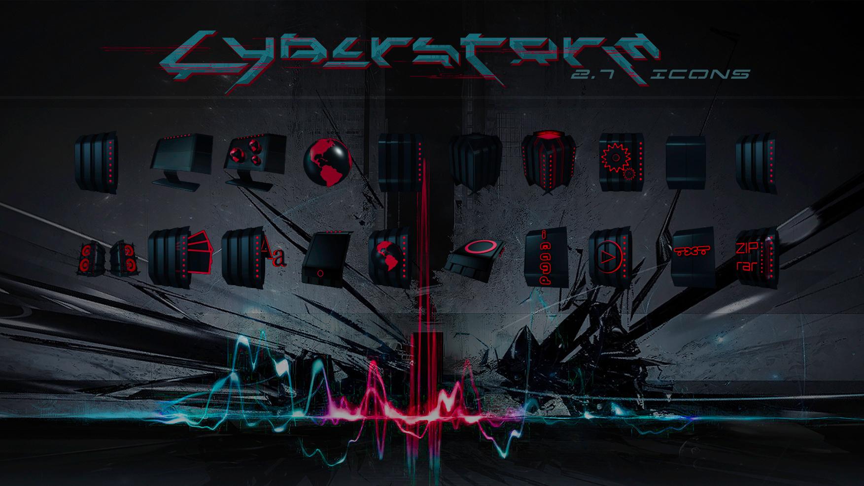 Cyberstorm 2.7 Icons Presentation