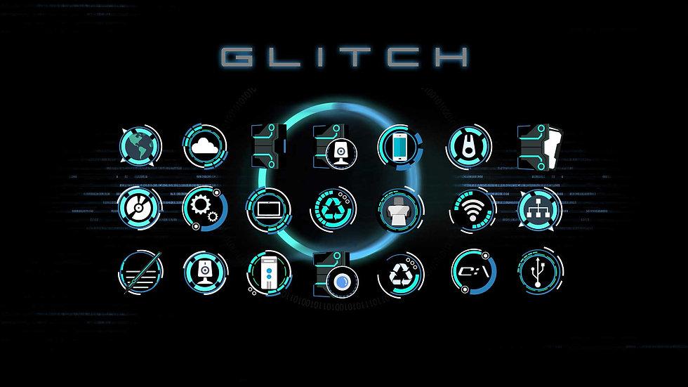 Glitch Icons
