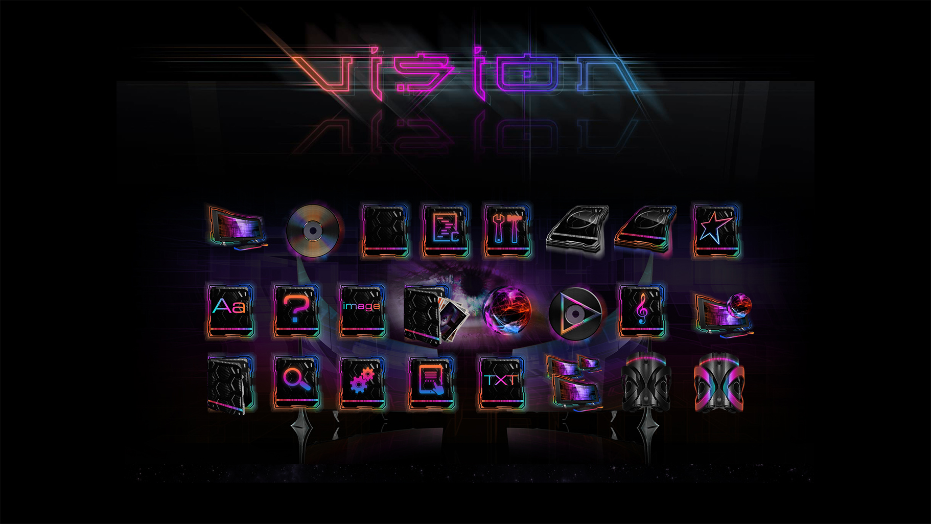 Vision Icon Presentation