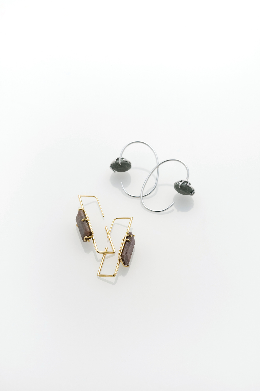Free balance Ⅱ · Earrings · 2018
