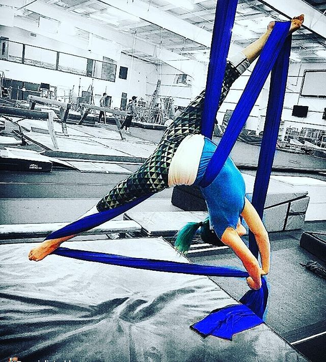 Have you always wanted to learn how to do the splits_ Well now you can!!!__ Shangri-La Aerial Arts!_