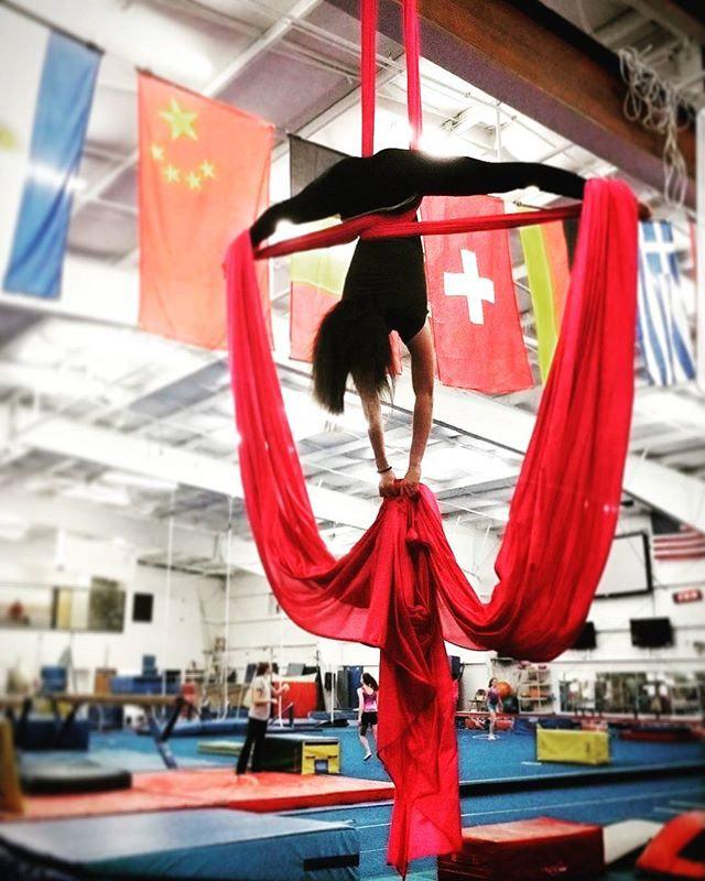 Youth Aerial Silks