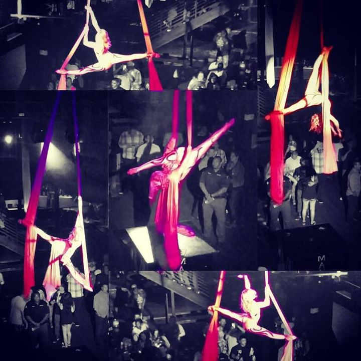 I never would have thought that I would grow up to be an Aerialist. #aerialsilks #aerial #Aerialist.