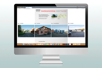 Websdesign – Gewerberaumvermietung Oberwald Lohn