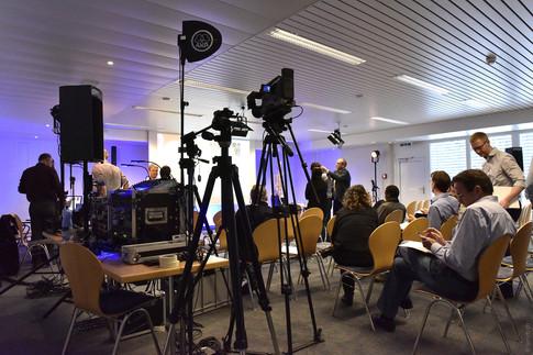Kongresse und Medienveranstaltungen