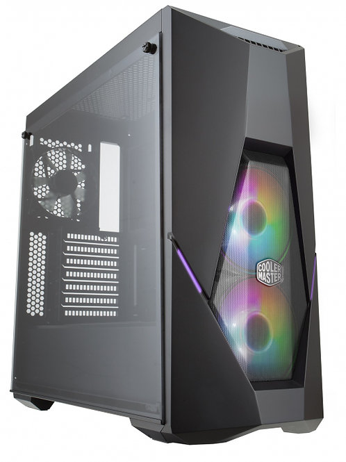 Gabinete Masterbox K500 ARGB - Vidro Temperado - Com Controlador - MCB-K500D-KGN