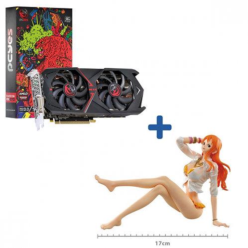 Kit Promocional Placa de Video RX 570 4GB GDDR5 256 BITS Dual Fan +
