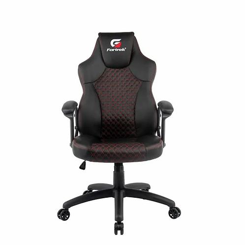 Cadeira Gamer Fortrek Holt Preta com Vermelho