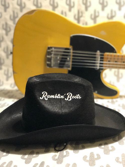Western hat adult