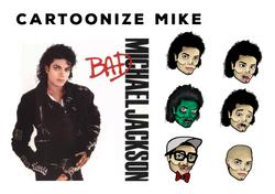 Cartoonize Mike