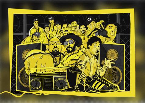 Hip Hop Pioneers Poster 1