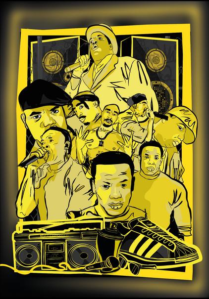 Hip Hop Pioneers Poster 2