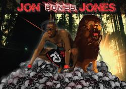 Jon Jones / Lion digital paint