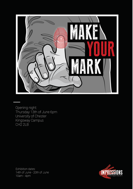 UoC 3rd Year Degree Show Poster