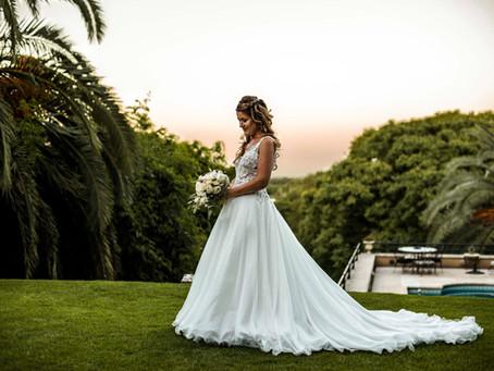 Lo mejor de mi boda: El vestido de novia.