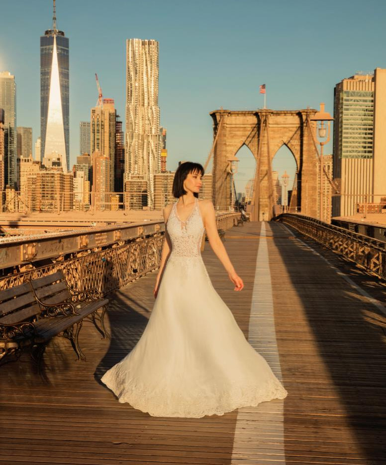 Vestido de Novia - Puente Booklyn New York