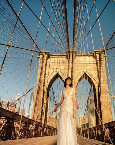 Vestido de Novia - Puente Booklyn New York