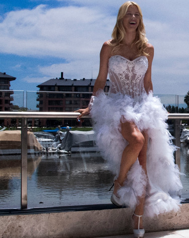 Vestido de Novia o 15 años, Brunetta