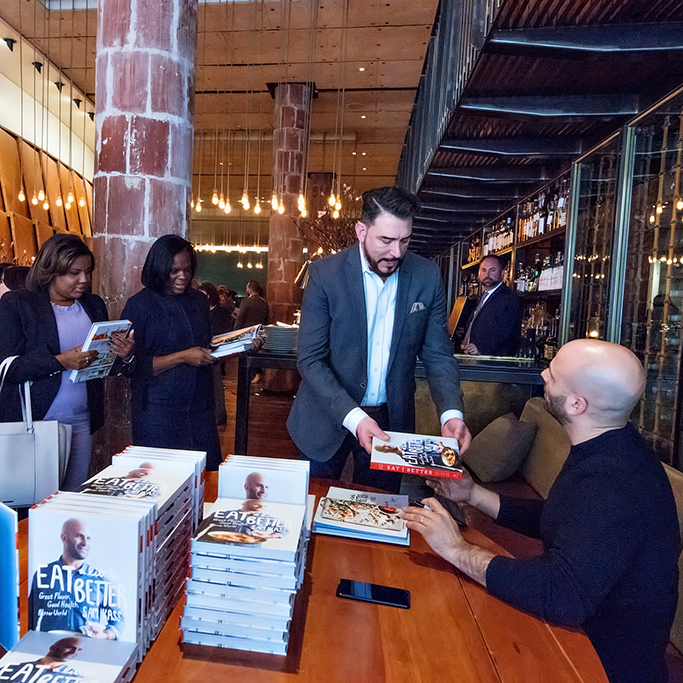 Sam Kass Book Signing