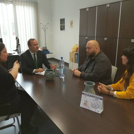 Reunión con el Alcalde del Ayuntamiento de Las Palmas de GC