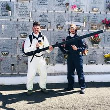 Prácticas del módulo de limpieza de cementerio