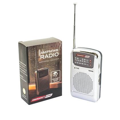 AM/FM/WB RADIO