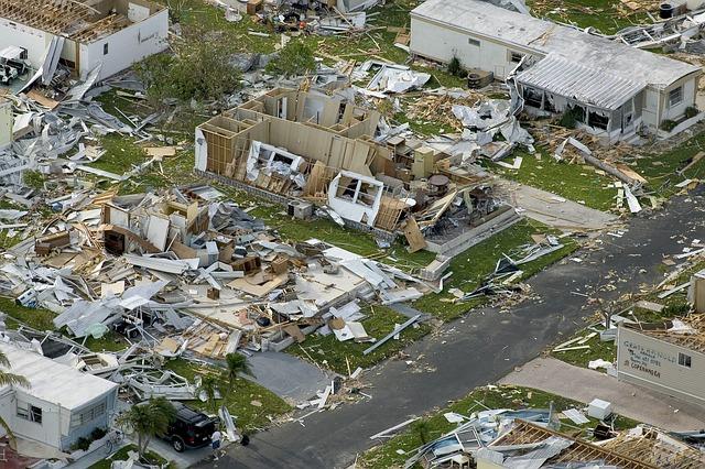 natural disaster destruction