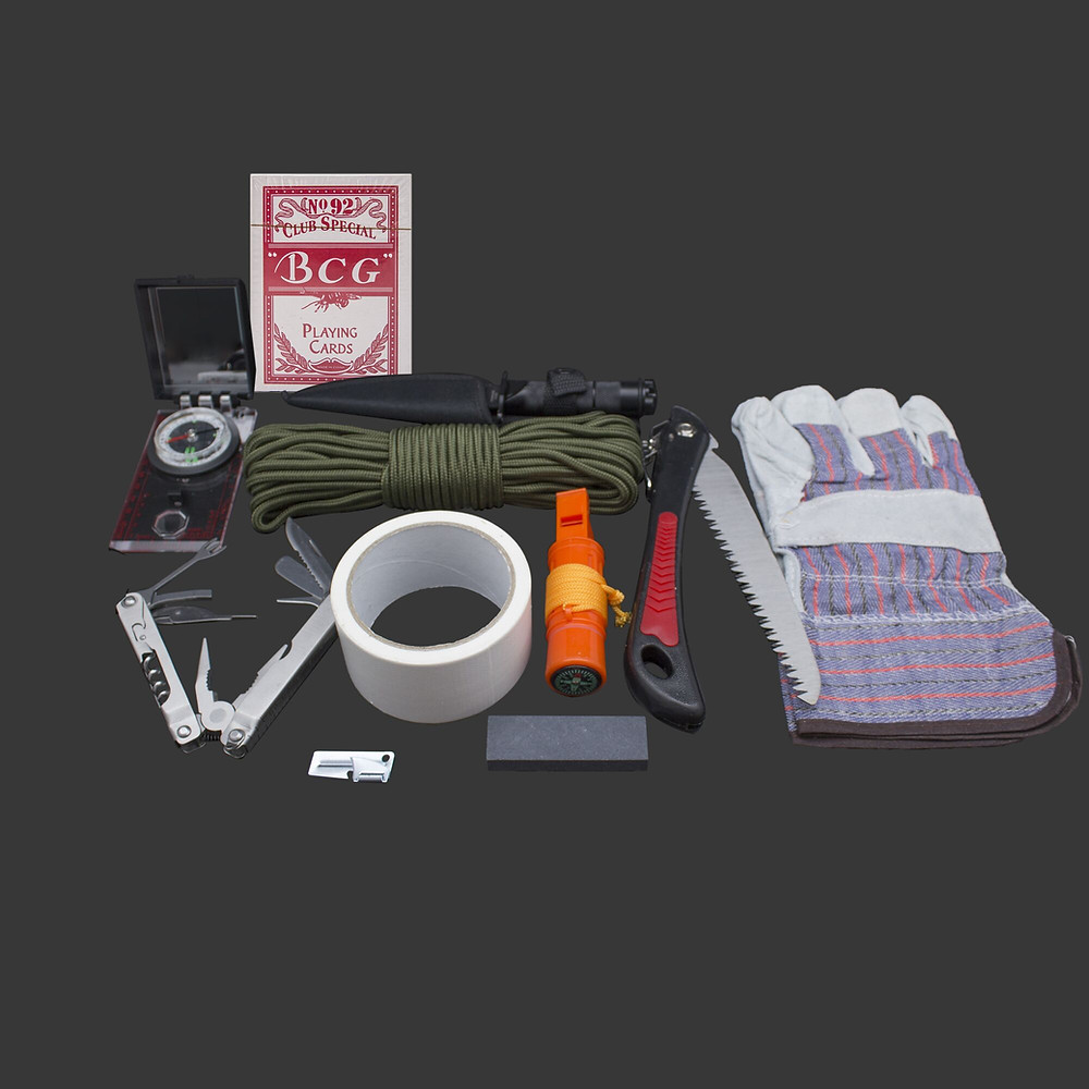 Emergency Kit components to consider