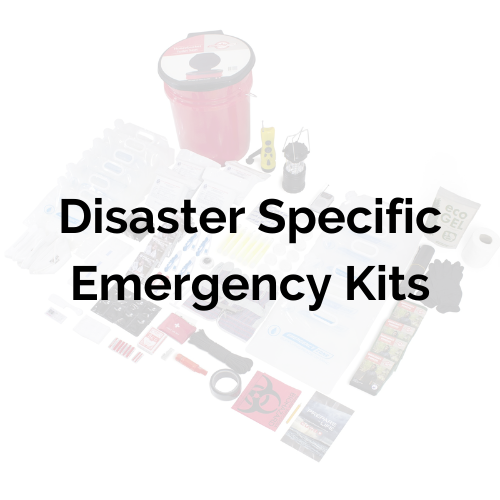 Disaster specific emergency kit