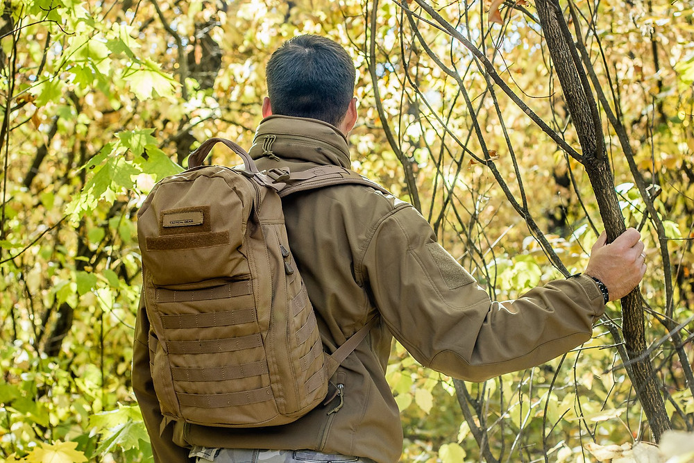 Survival backpack for camping