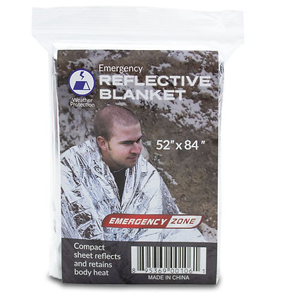 Mylar Emergency Blanket - Single