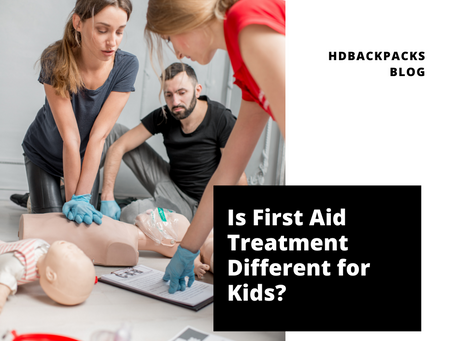 Is First Aid Treatment Different for Kids?
