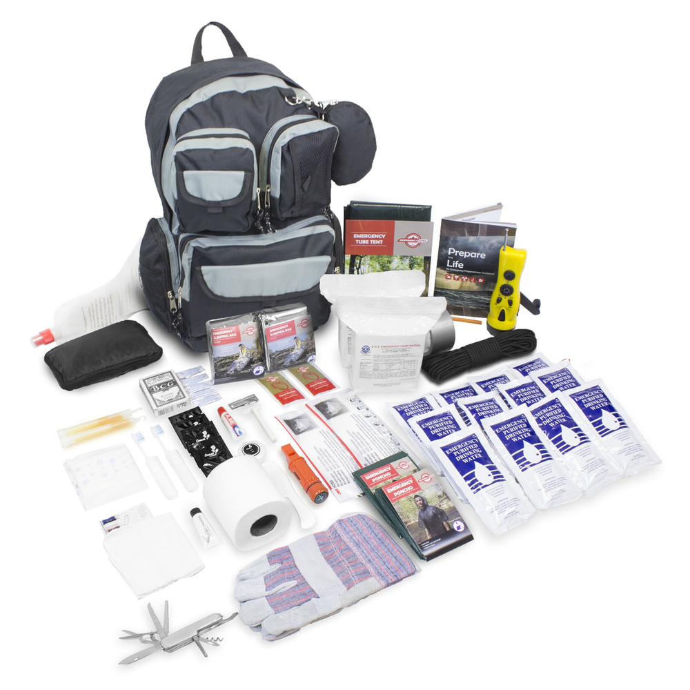 Emergency Zones urban survival bug-out bag.