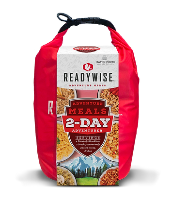 Ready Wise 2-Day Adventure Food Kit