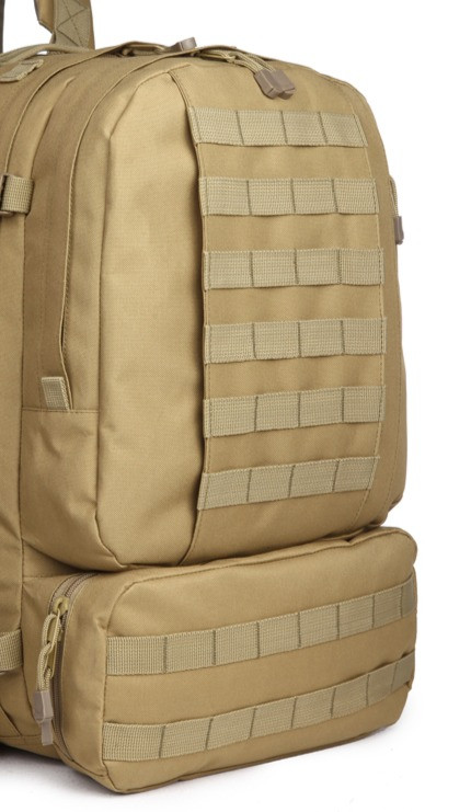 MOLLE on large tactical backpack
