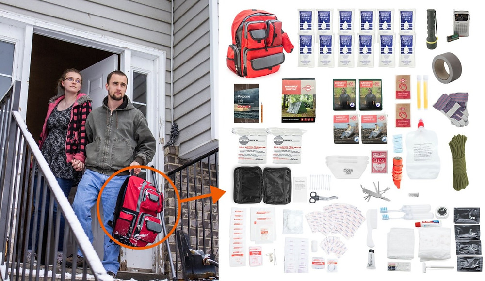 what goes in a 72 hour survival kit?