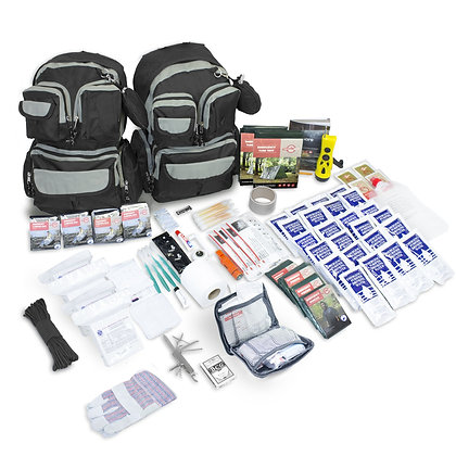 4 Person - Urban Survival Backpack Kit