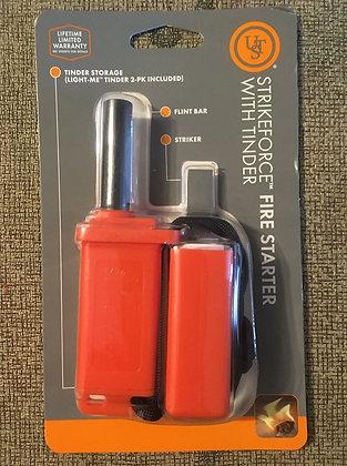 UST Brands StrikeForce w/ Tinder, Orange Blister